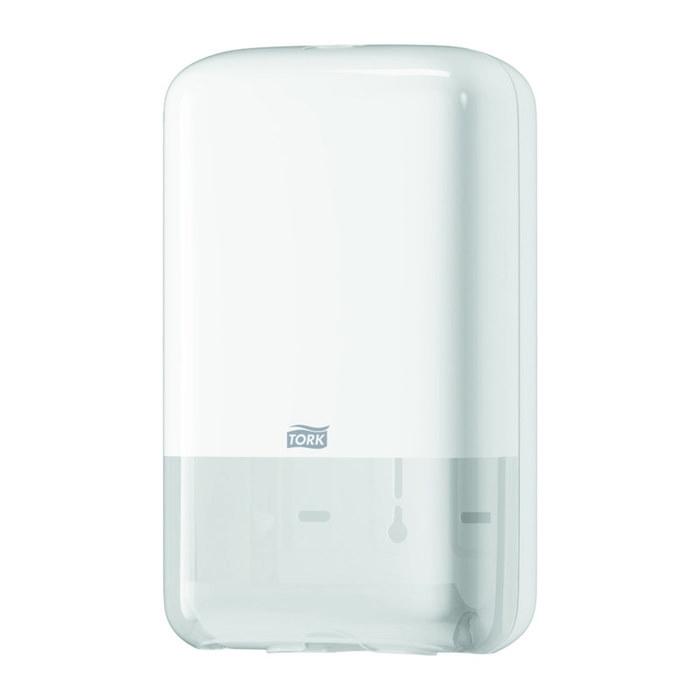 Диспенсер для туалетной бумаги Tork Т3 Диспенсер 12 белый фото
