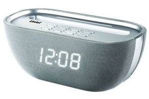 Стильные настольные часы Uniel UTR-25WSU фото