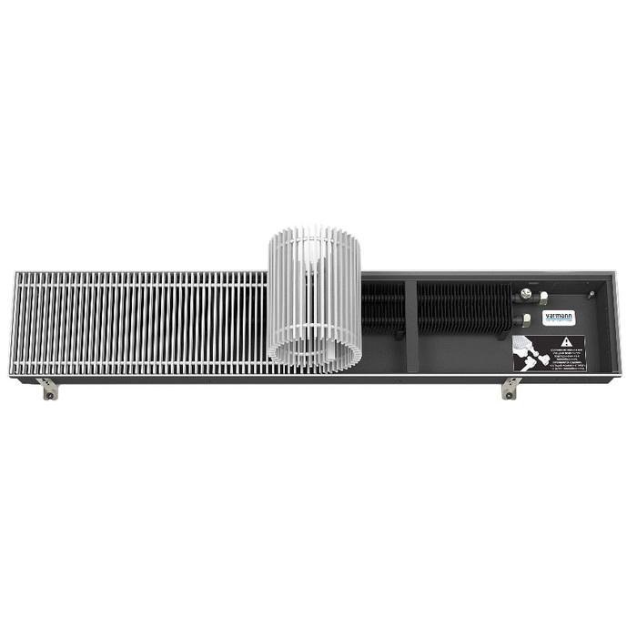 Внутрипольный конвектор Varmann Ntherm 370x110x2000 фото
