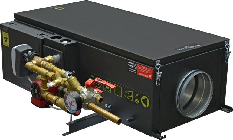 Приточная вентиляционная установка Vent Machine Колибри-1000 WATER фото