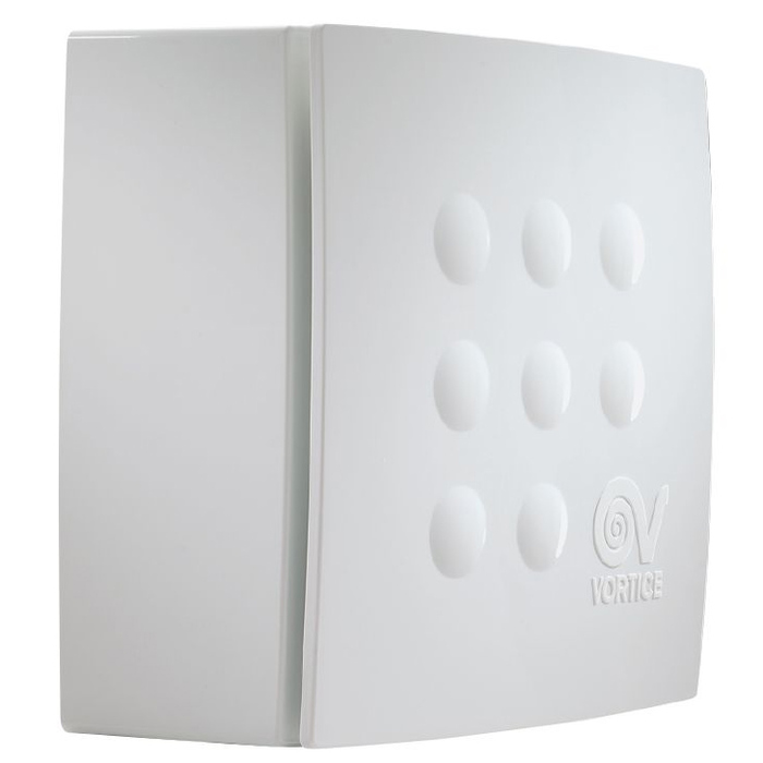 Вытяжка для ванной диаметр 100 мм Vortice Quadro Micro 100 T фото