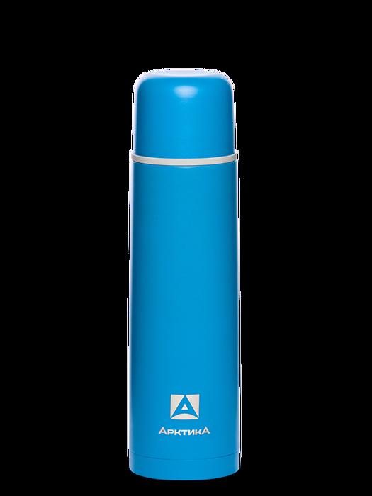 Термос Арктика 102-750 синий пластик фото