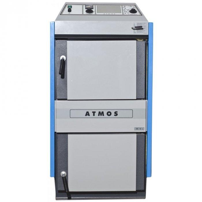 Купить Твердотопливный котел 25 кВт Атмос DC 25S с автоматикой ACD01 в интернет магазине климатического оборудования