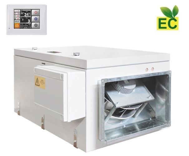 Приточная вентиляционная установка Благовест ФЬОРДИ ВПУ 2500 ЕС/36-380/3-GTC фото