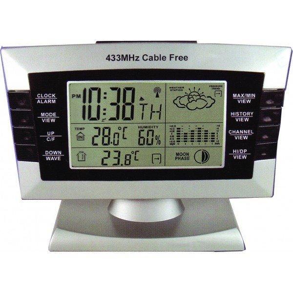 Купить Цифровая метеостанция с радиодатчиком Бриг+ ЦМ 019 РД в интернет магазине климатического оборудования