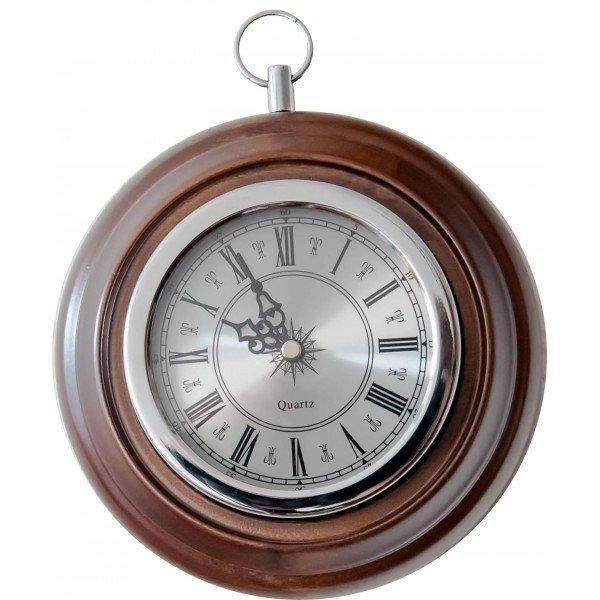 Купить Часы настенные Бриг+ ПБ-4 Silver часы в интернет магазине климатического оборудования