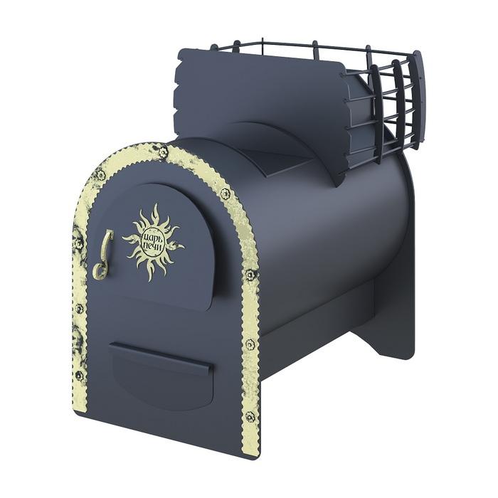 Дровяная банная печь Царь печи Царь печи