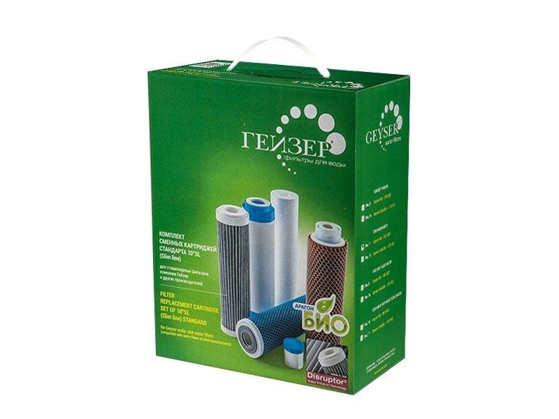 Купить Аксессуар для фильтров Гейзер Комплект сменных картриджей №10 в интернет магазине климатического оборудования