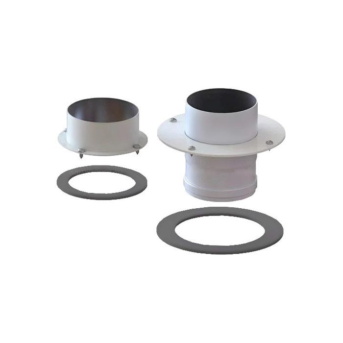 Аксессуар для отопления Лемакс Лемакс Фланцы для раздельной системы дымоудаления конденсационных котлов (пара)