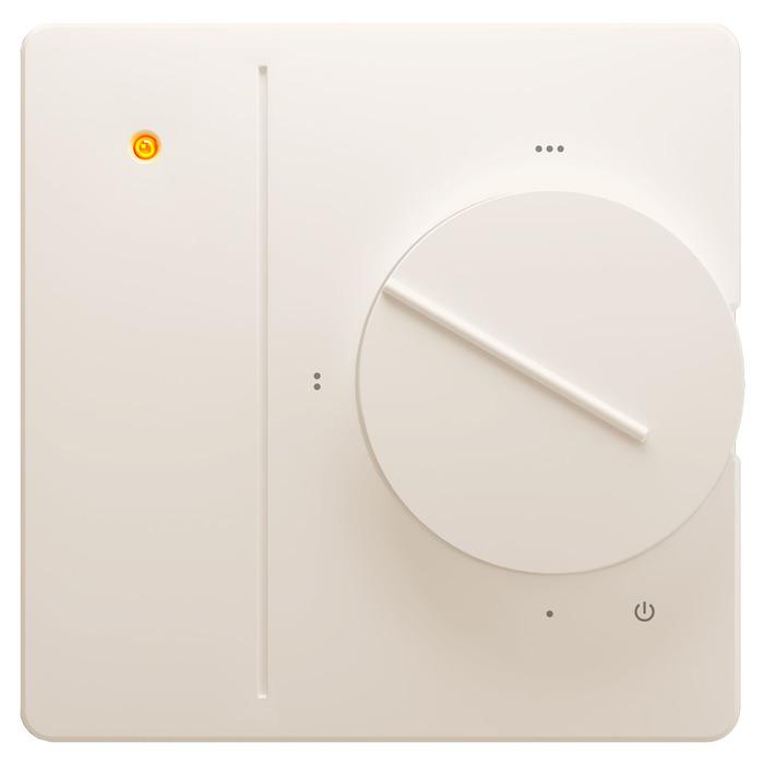 Терморегулятор для теплого пола Национальный комфорт 701 кремовый фото