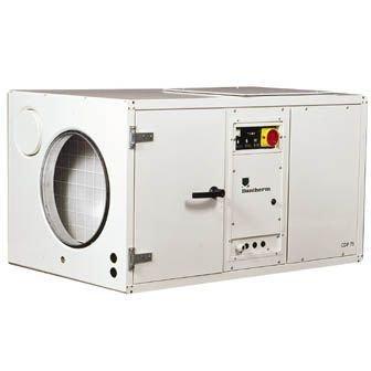 Промышленный осушитель воздуха Dantherm CDP 125 с водоохлаждаемым конденсатором