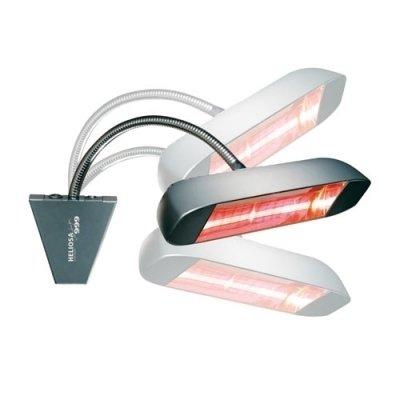 Инфракрасный обогреватель 2 кВт Heliosa 999 IPX5/1500W/BLK
