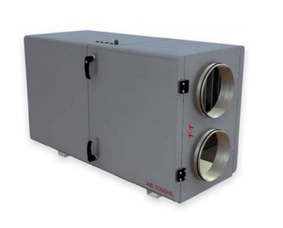 Приточновытяжная вентиляционная установка 500 м3ч Dvs RIS 400 HW 3.0