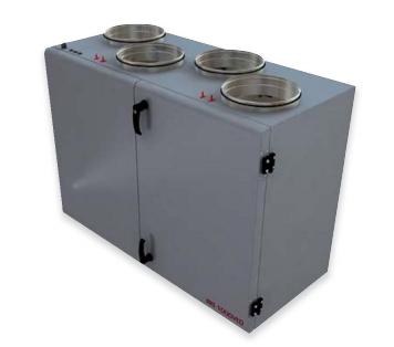 Приточновытяжная вентиляционная установка 500 м3ч Dvs RIS 400 VE 3.0