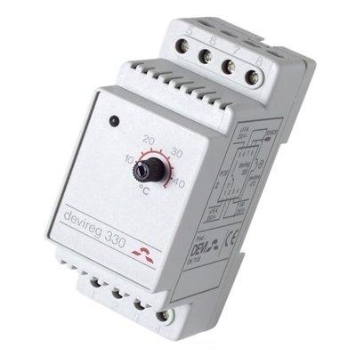 Devireg™ 330 с диапазоном температур от -10° до +10°C с датчиком на проводе