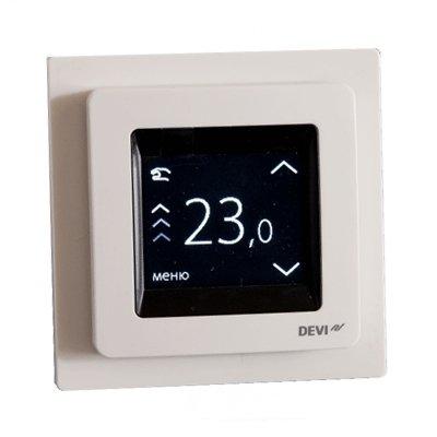 Терморегулятор для теплого пола Devireg Touch c датчиком пола и воздуха