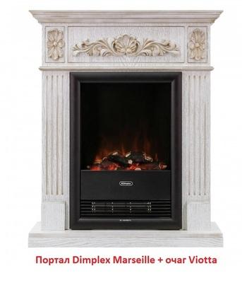 Деревянный портал Dimplex Marseille (для Viotta)