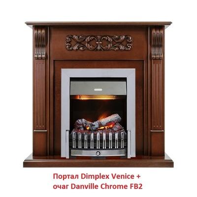 Деревянный портал Dimplex Venice (для классика Opti-Myst, Optiflame)