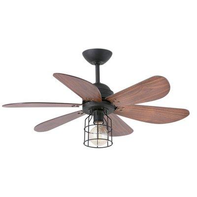 Вентилятор с подсветкой Faro CHICAGO NEGRO