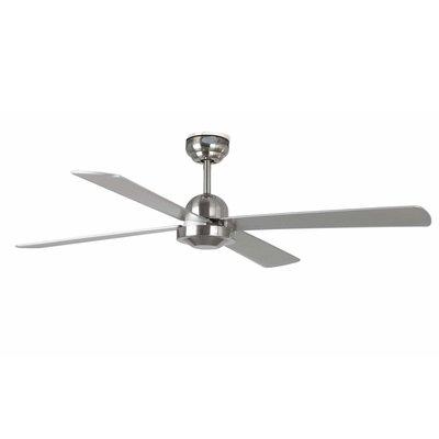Вентилятор без подсветки Faro IBIZA NIQUEL MATE