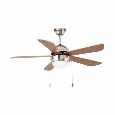 Вентилятор с подсветкой Faro VENETO NIQUEL MATE