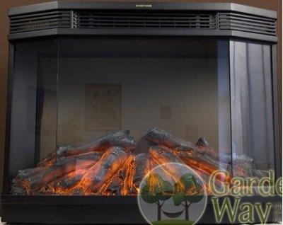 Электрокамин-очаг garden way volcano 3d отзыв беседки с барбекю запорожье