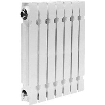 Чугунный радиатор Konner Модерн, 4 секции с монтажным комплектом