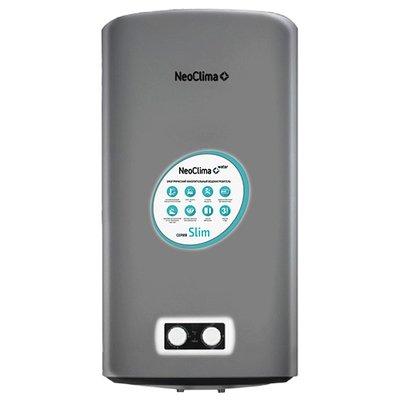 Электрический накопительный водонагреватель 100 литров Neoclima Slim INOX 100S
