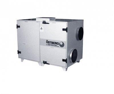 Приточновытяжная вентиляционная установка 8000 м3ч Ostberg HERU 1600 S RWR