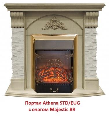 Деревянный портал Real-flame ATHENA STD/EUG