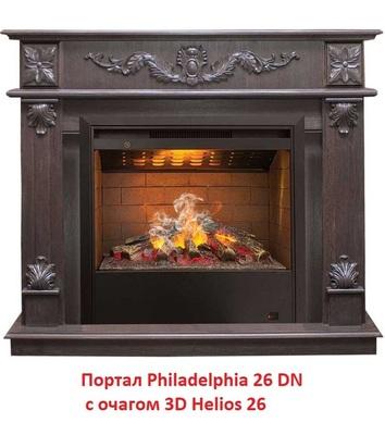 Деревянный портал Real-flame Philadelphia 26 DN