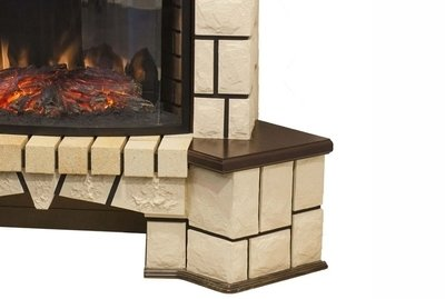 ������������ ���������� Real-flame Stone Corner NEW 26 + MoonBlaze IR