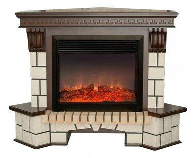 Электрокамин очагпортал Real-flame Stone Corner NEW 26 + MoonBlaze S Bl