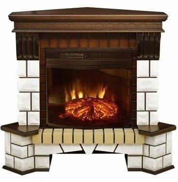 Электрокамин очагпортал Real-flame Stone Corner NEW F25 +Firespace 25 IR S