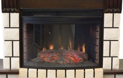 Электрокамин очагпортал Real-flame Stone NEW + Firespace 25 IR S