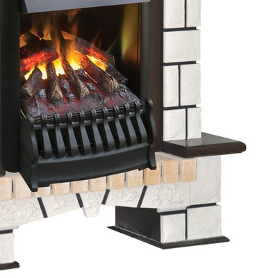 Real-flame Stone New с очагом 3D Oregan