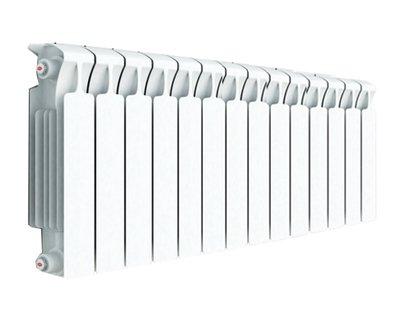 Биметаллический радиатор Rifar Monolit Ventil 350/14 секц. MVR