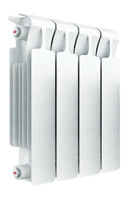 Биметаллический радиатор Rifar Monolit Ventil 350/4 секц. MVR