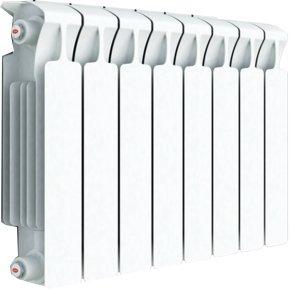 Биметаллический радиатор Rifar Monolit Ventil 350/8 секц. MVL