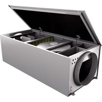 Приточная вентиляционная установка 500 м3ч Rosenberg 200 PTC 2,4