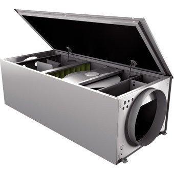 Приточная вентиляционная установка 500 м3ч Rosenberg 200 PTC 4,8