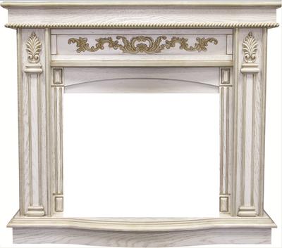 Деревянный портал Royal flame Cardinal под очаг Panoramic 25 LED FX White Oak