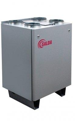 Приточновытяжная вентиляционная установка 500 м3ч Salda RIS 400 VWL 3.0