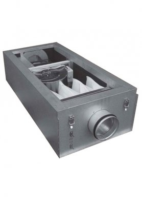 Приточная вентиляционная установка 4500 м3ч Shuft CAU 4000/3-22,5/3