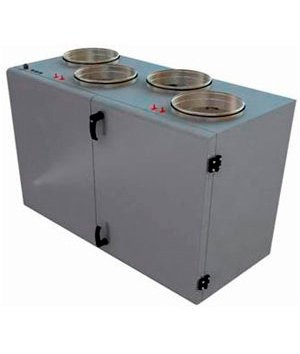Приточновытяжная вентиляционная установка 1000 м3ч Shuft UniMAX-P 800VWR-A