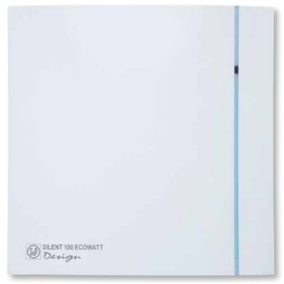 Вытяжка для ванной Soler & palau SILENT-100 CHZ DESIGN ECOWATT