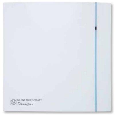 Вытяжка для ванной Soler & palau SILENT-100 CRZ DESIGN ECOWATT