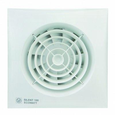 Вытяжка для ванной Soler & palau SILENT-100 CRZ ECOWATT