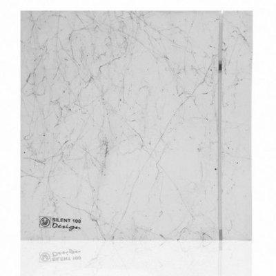 Вытяжка для ванной Soler & palau SILENT-100 CRZ MARBLE WHITE DESIGN-4C (230V 50)