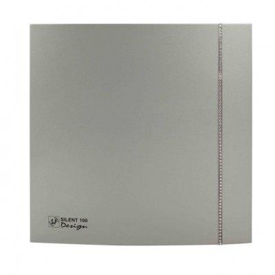 Вытяжка для ванной Soler & palau SILENT-100 CZ SILVER SWAROVSKI DESIGN (230V 50)